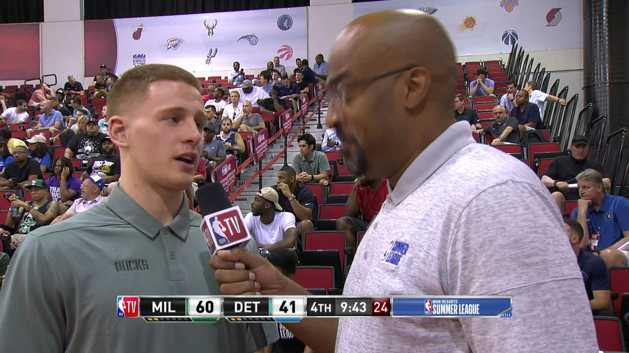 Donte DiVincenzo Interview At Summer League