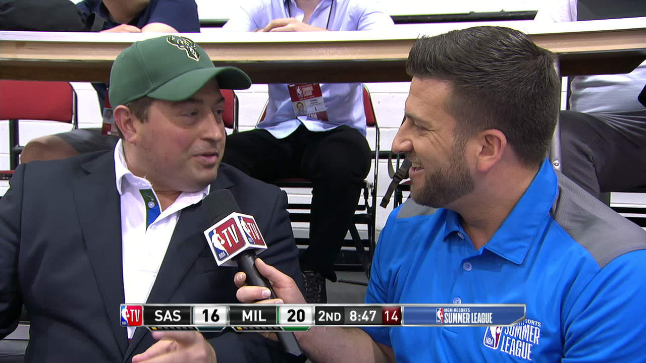 Peter Feigin Interview At Summer League