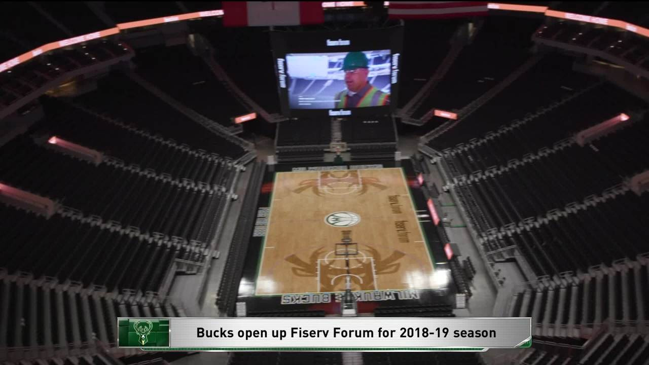 Milwaukee Bucks Open Fiserv Forum