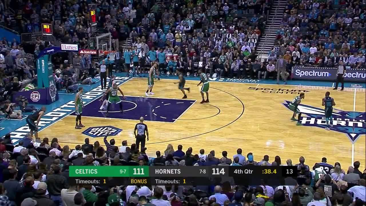 Kemba Walker's Big 3-pointer