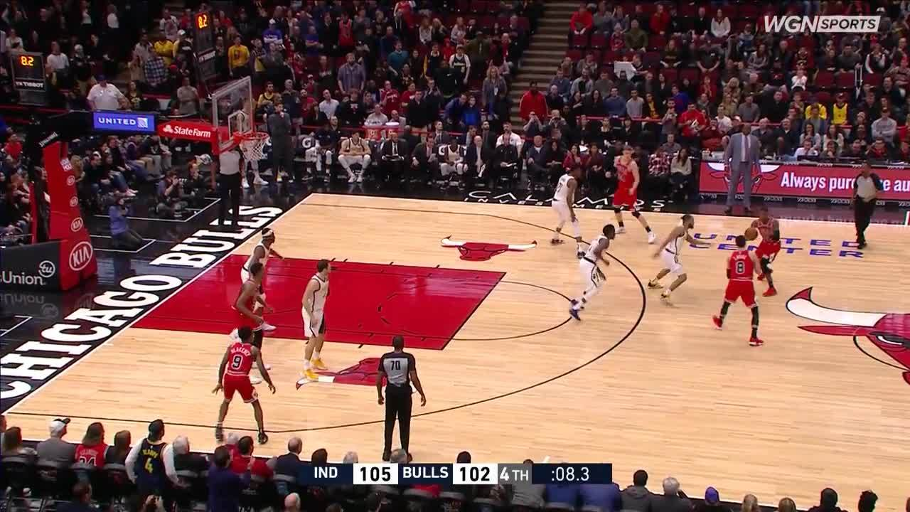 Zach LaVine sends the game into overtime with clutch 3-pointer