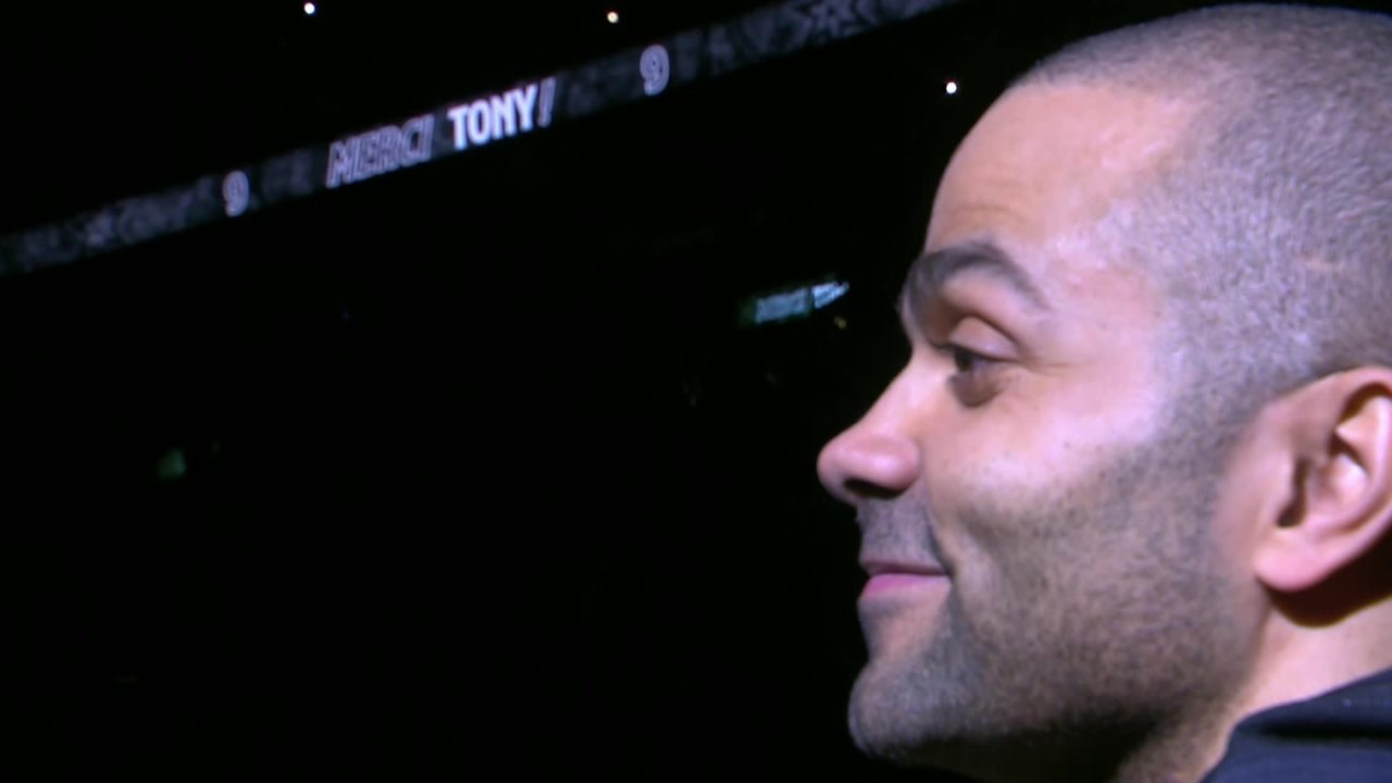 Spurs Pay Tribute To Tony Parker
