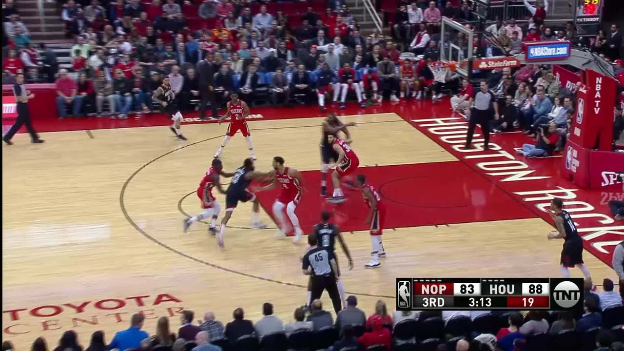 Okafor Throws Down The Big Dunk | Pelicans-Rockets Highlights