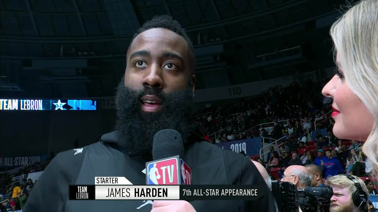 Practice | Team LeBron: James Harden