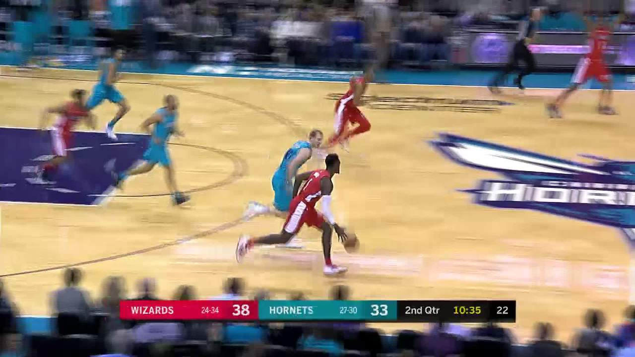 Bridges steals and finishes