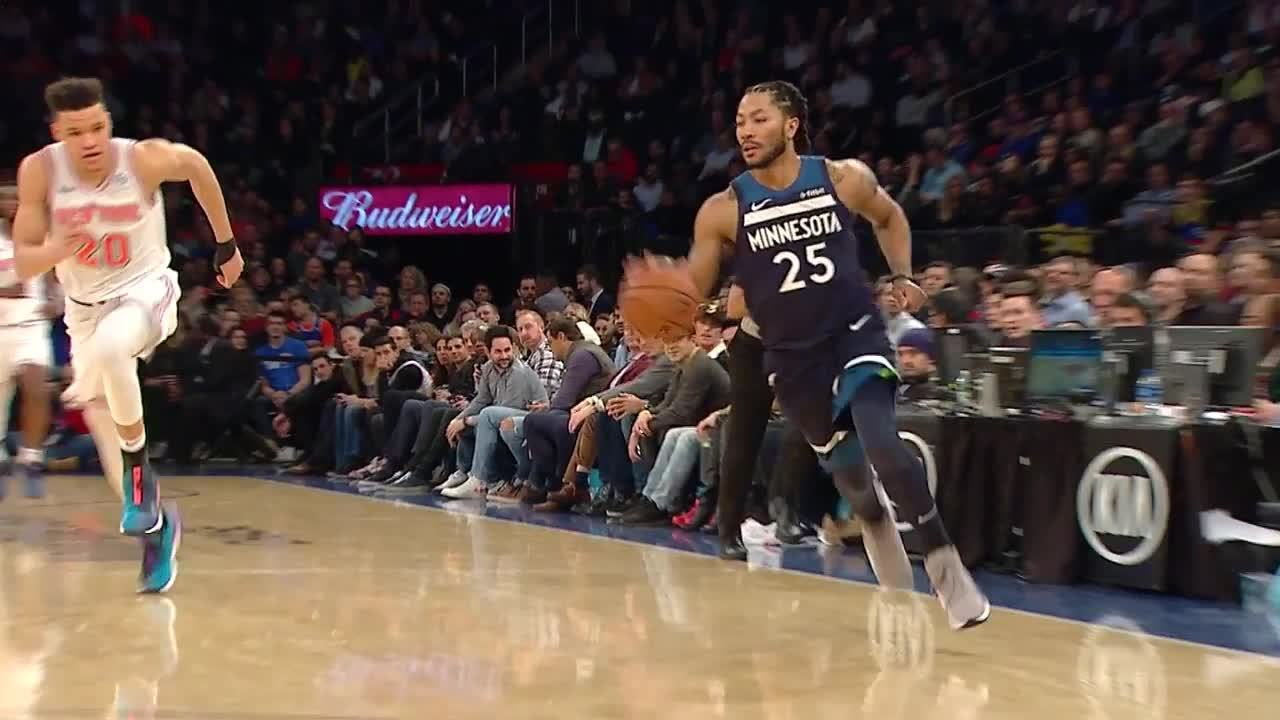 Derrick Rose Best Plays From The 2018-2019 NBA Regular Season