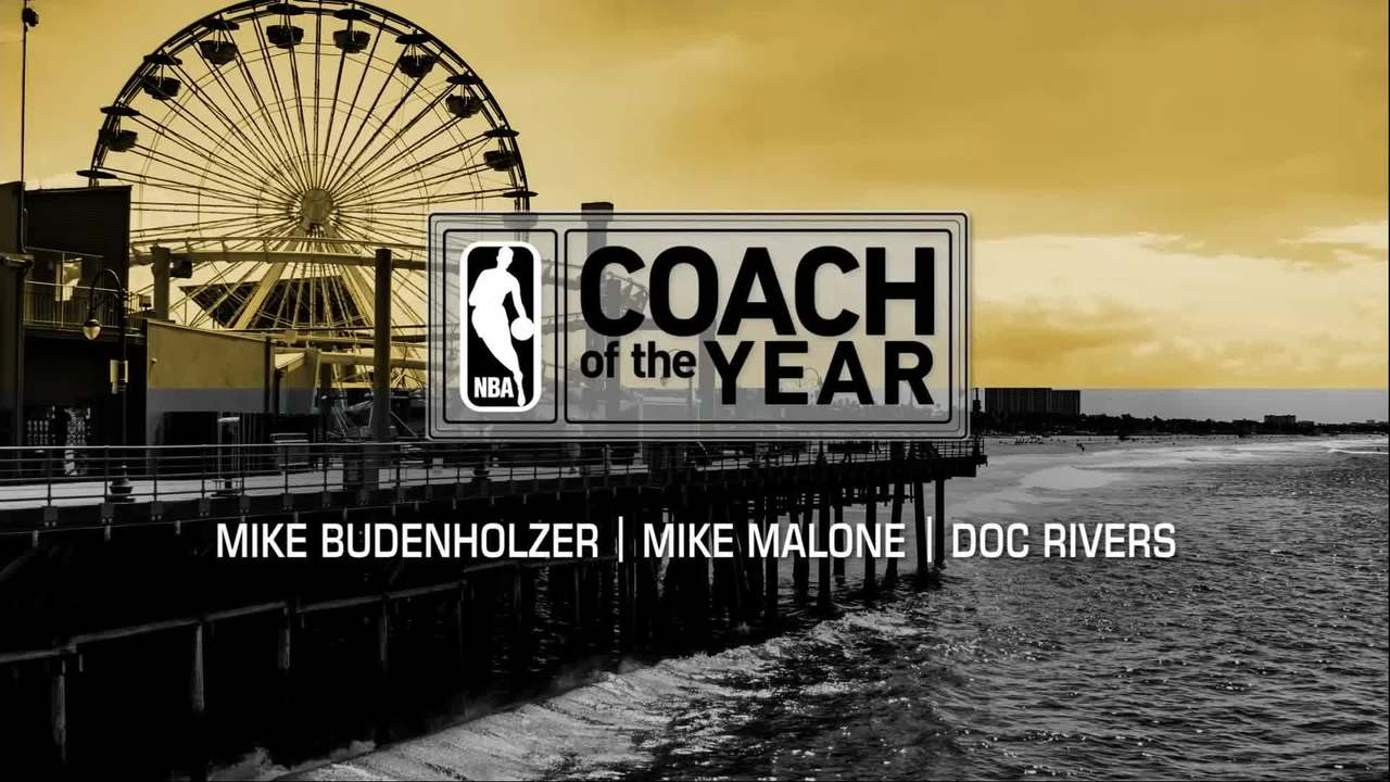 Coach of the Year finalists