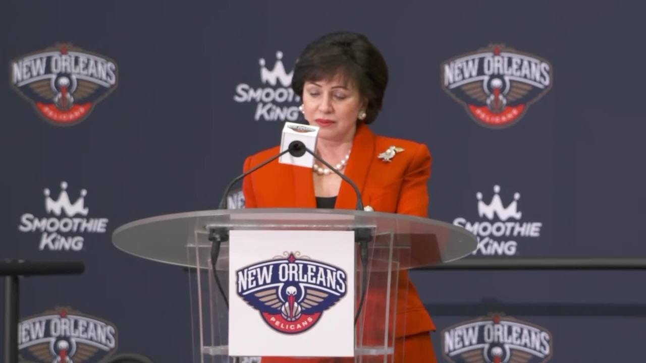 Gayle Benson's Statement | Zion Williamson Introductory Press Conference