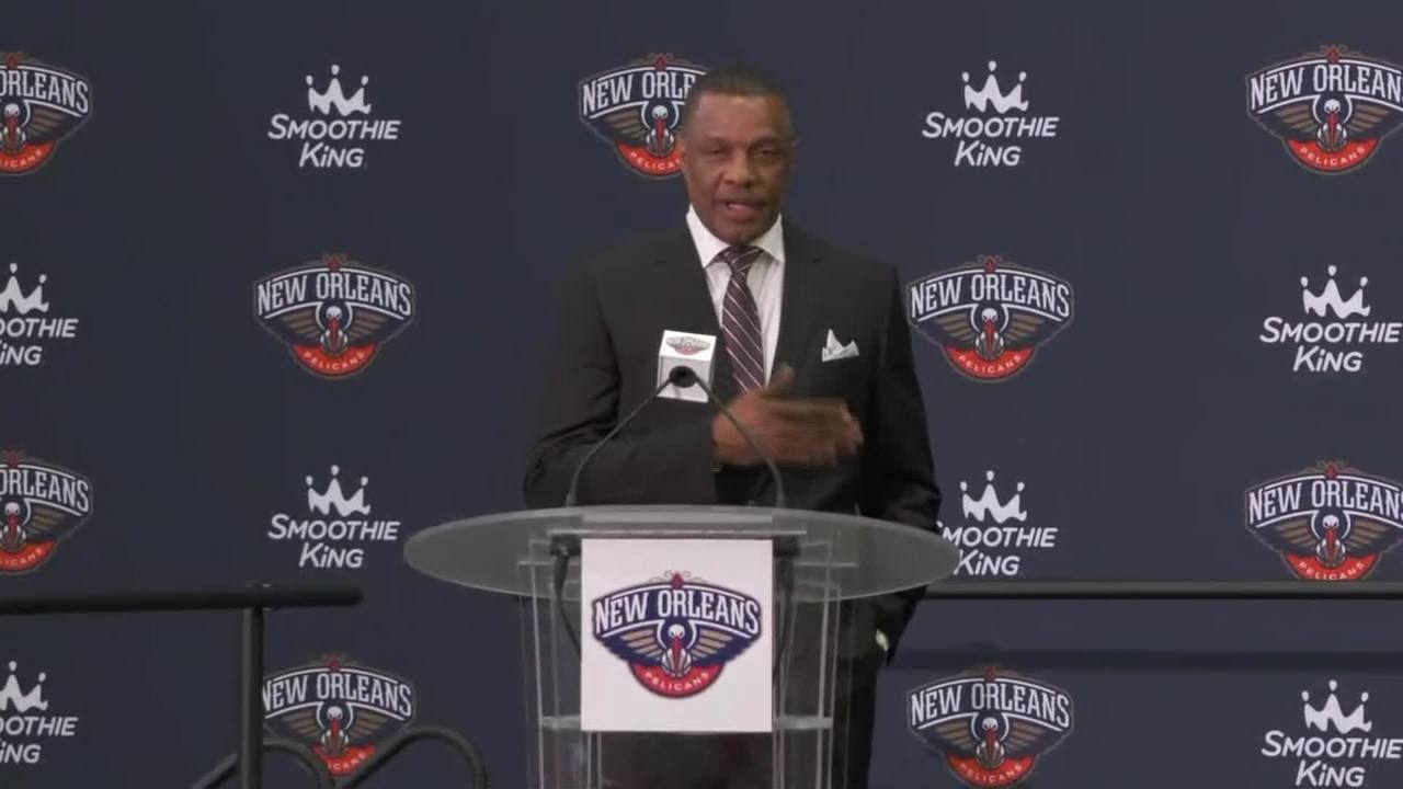 Coach Alvin Gentry's Statement | Zion Williamson Introductory Press Conference