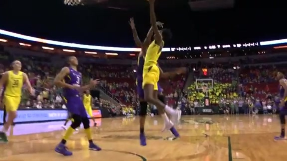 Seattle Storm Highlights Vs Los Angeles Sparks Seattle